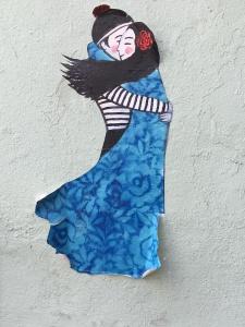 Tango an der Wand